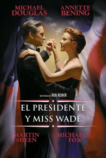 "Poster for the movie ""El presidente y Miss Wade"""