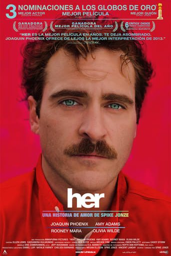 "Poster for the movie ""Her"""