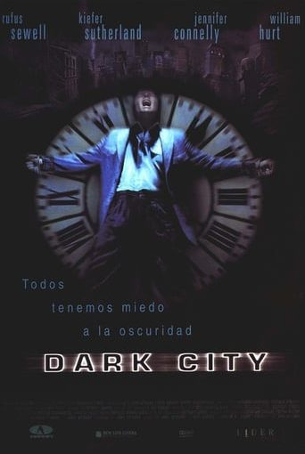 "Poster for the movie ""Dark City"""