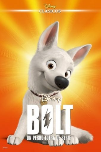 """Poster for the movie """"Bolt"""""""