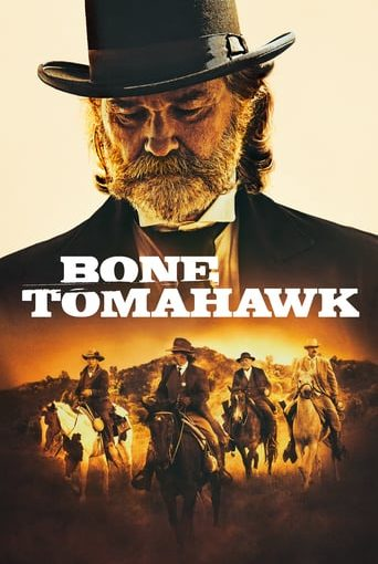 """Poster for the movie """"Bone Tomahawk"""""""