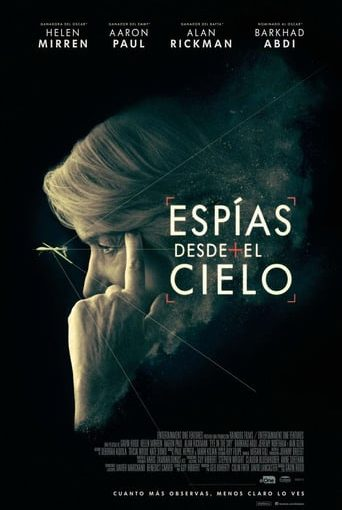 "Poster for the movie ""Espías desde el cielo"""