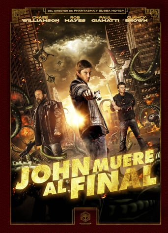 """Poster for the movie """"John muere al final"""""""