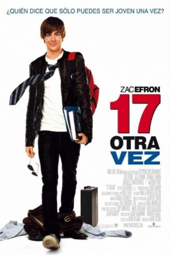 """Poster for the movie """"17 otra vez"""""""