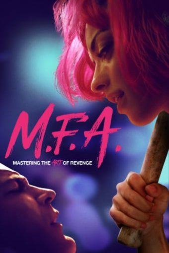 """Poster for the movie """"M.F.A."""""""