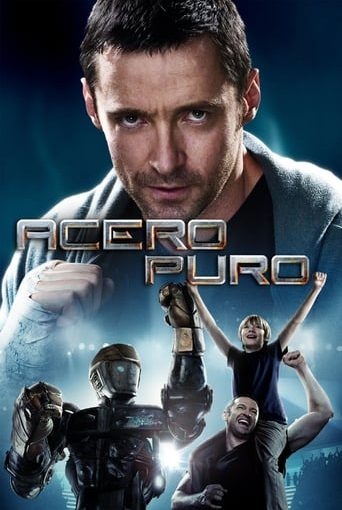 """Poster for the movie """"Acero puro"""""""