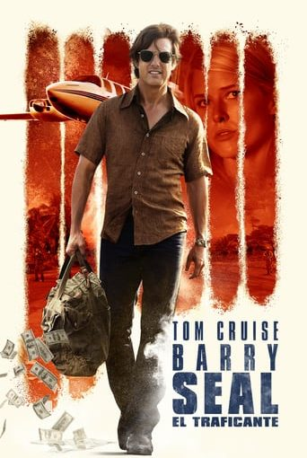 """Poster for the movie """"Barry Seal: el traficante"""""""