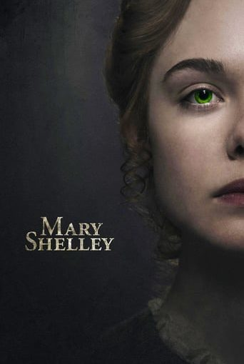 """Poster for the movie """"Mary Shelley"""""""