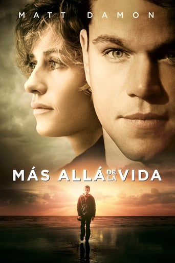 "Poster for the movie ""Más allá de la vida"""