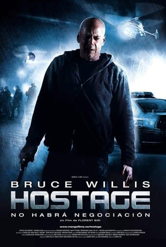 """Poster for the movie """"Hostage"""""""