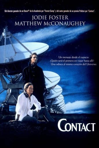 """Poster for the movie """"Contact"""""""