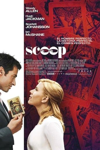 """Poster for the movie """"Scoop"""""""