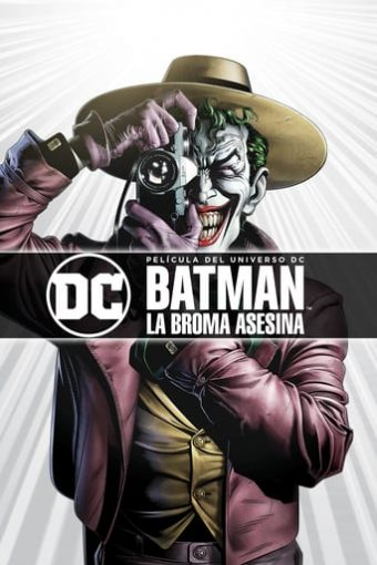 "Poster for the movie ""Batman: La broma asesina"""