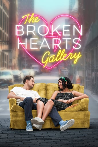 """Poster for the movie """"The Broken Hearts Gallery"""""""