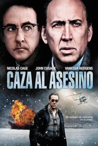 """Poster for the movie """"Caza al asesino"""""""