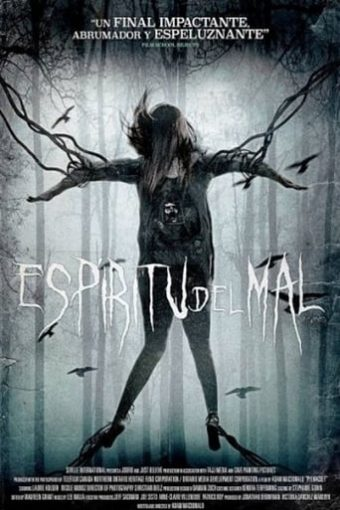 "Poster for the movie ""Espíritu del mal"""