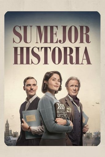"Poster for the movie ""Su mejor historia"""