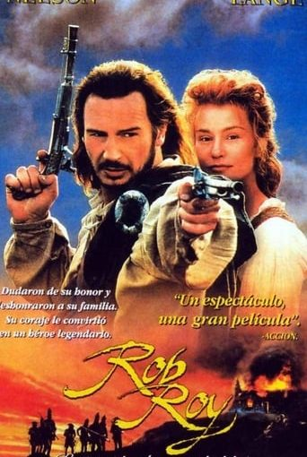"Poster for the movie ""Rob Roy, la pasión de un rebelde"""