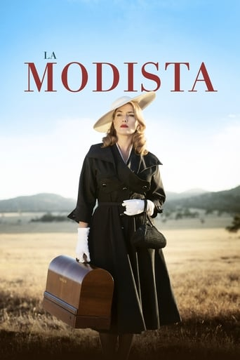 "Poster for the movie ""La modista"""