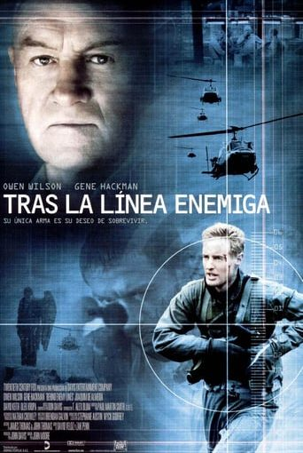 "Poster for the movie ""Tras la línea enemiga"""