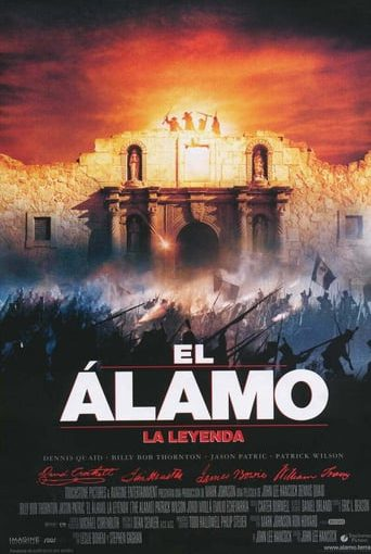 "Poster for the movie ""El Álamo - La leyenda"""