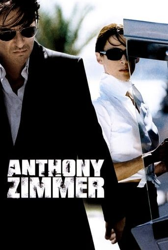 "Poster for the movie ""El secreto de Anthony Zimmer"""