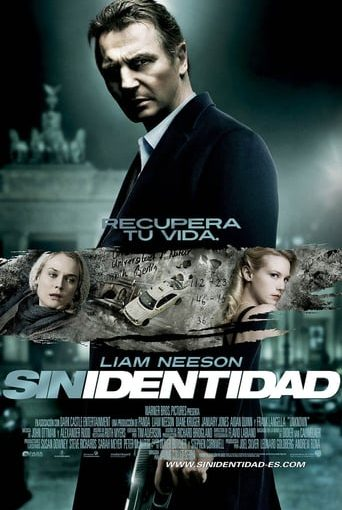 """Poster for the movie """"Sin identidad"""""""