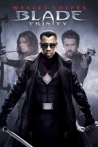 """Poster for the movie """"Blade Trinity"""""""