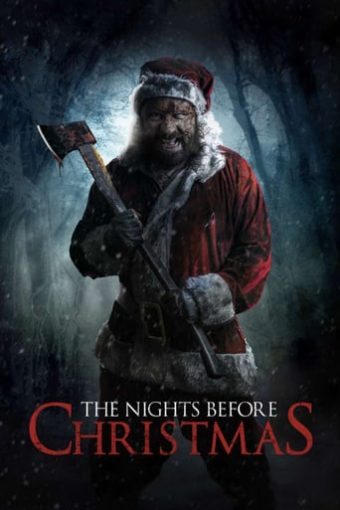 """Poster for the movie """"The Nights Before Christmas"""""""
