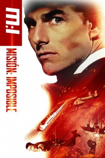 """Poster for the movie """"Misión imposible"""""""