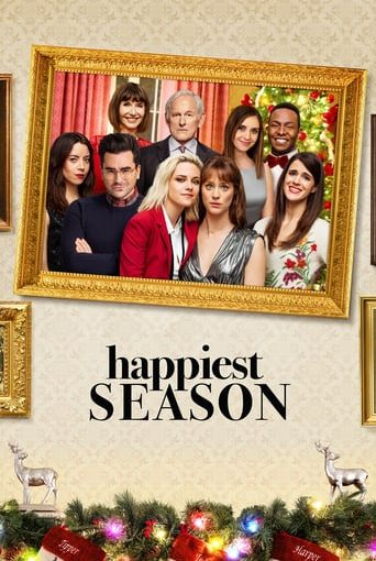 "Poster for the movie ""Happiest Season"""