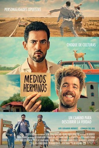 "Poster for the movie ""Medio hermanos"""