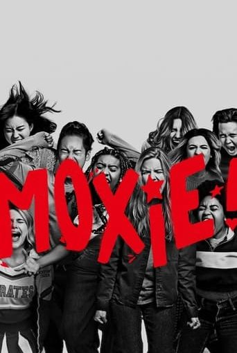 "Poster for the movie ""Moxie"""