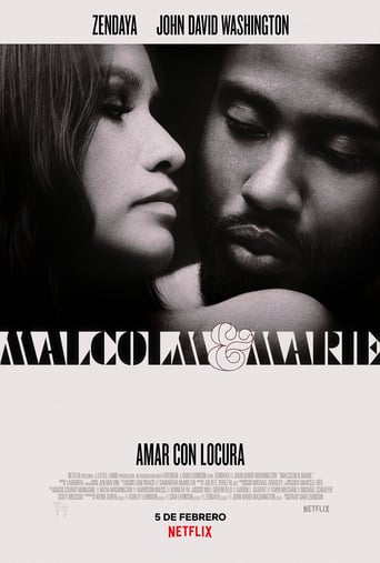 "Poster for the movie ""Malcolm & Marie"""