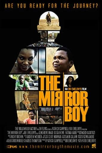"""Poster for the movie """"The Mirror Boy"""""""