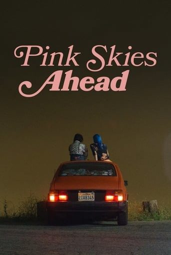 """Poster for the movie """"Pink Skies Ahead"""""""