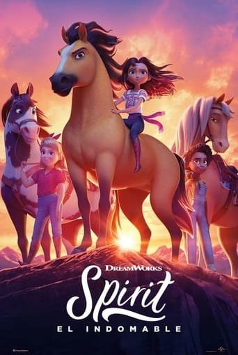 """Poster for the movie """"Spirit - Indomable"""""""