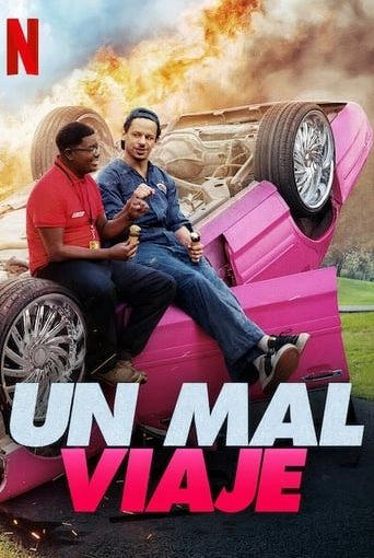 """Poster for the movie """"Un mal viaje"""""""