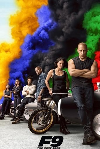 """Poster for the movie """"Fast & Furious 9"""""""