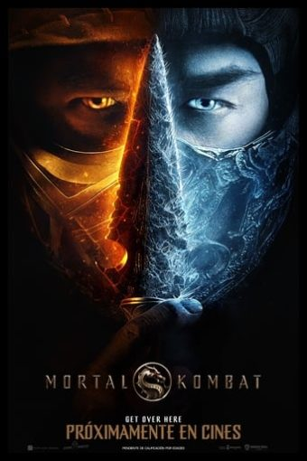 """Poster for the movie """"Mortal Kombat"""""""