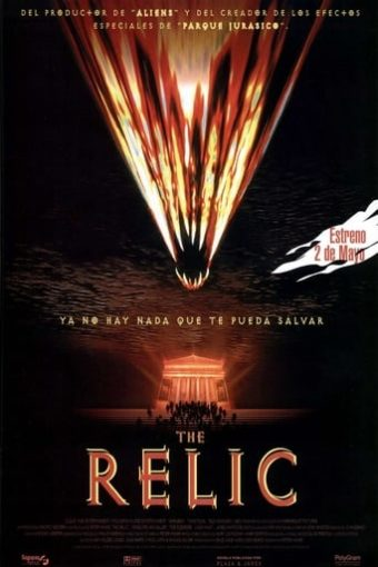 """Poster for the movie """"The Relic"""""""