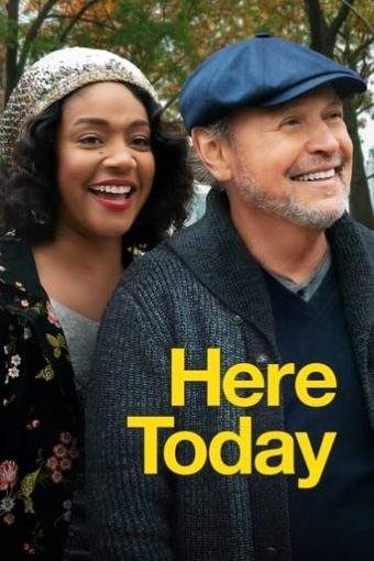 """Poster for the movie """"Here Today"""""""