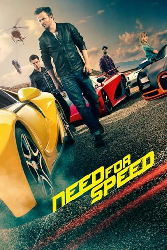 """Poster for the movie """"Need for Speed"""""""