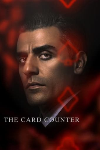 """Poster for the movie """"The Card Counter"""""""