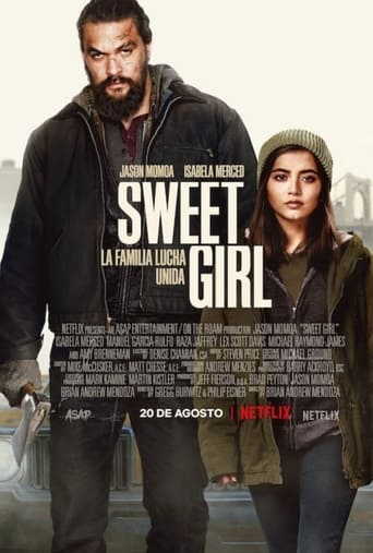 """Poster for the movie """"Sweet Girl"""""""