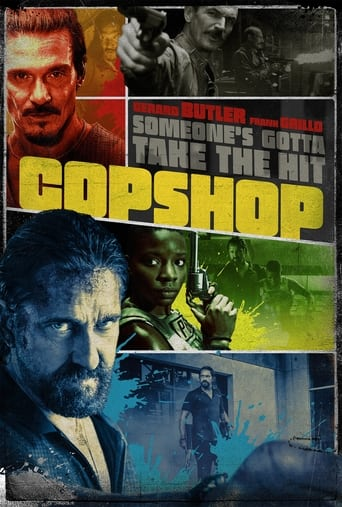 """Poster for the movie """"Copshop"""""""
