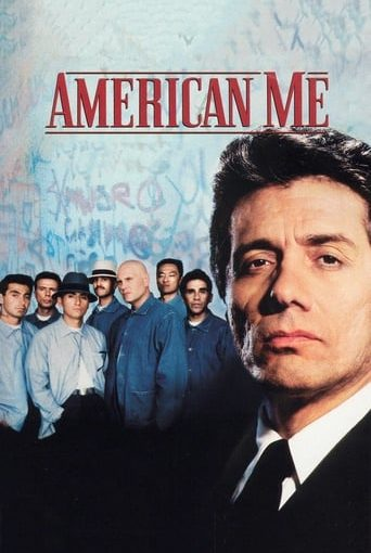 """Poster for the movie """"American Me (Sin remisión)"""""""