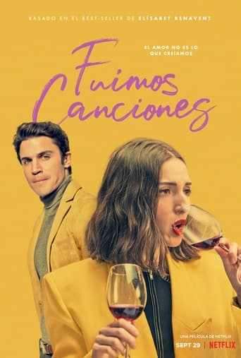 """Poster for the movie """"Fuimos canciones"""""""